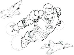 Iron Man Armored Adventures Coloring Pages Wonderful Design Ideas