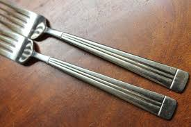 wallace silverware vintage stainless