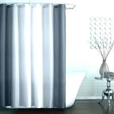 hookless shower curtain and liner set waffle fabric