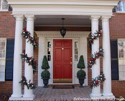 how to hang garland around front doorMake this Pottery Barn Inspired Christmas Garland A Detailed Tutorial