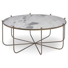 mr brown tangmere global marble gold spindle coffee table kathy kuo home