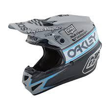 Troy Lee Design Troy Lee Designs Helmet Se4 Polyacrylite Team Edition 2 Grey
