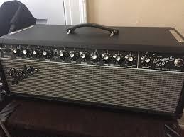 Fender 4x10 Guitar Cabinet New Amp Day Fender Bassman 500 Now With Bassman Cab