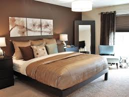 Exceptional Gorgeous Chocolate Brown Master Bedroom With Dark Storage Fluffy Rug Chair  Mirror And Great Lamps Ideas Concepts