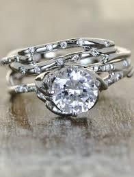 unique diamond engagement rings ken dana design