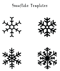 Cut Out Character Template Character Snowflake Template Amartyasen Co