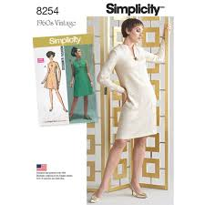 Simplicity Pattern Cool Simplicity Pattern 48 48s Vintage Dress for Misses and Plus Sizes