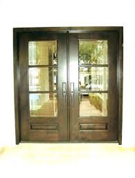 3 panel front door exterior sliding mission zinc 4 oval unfinished p