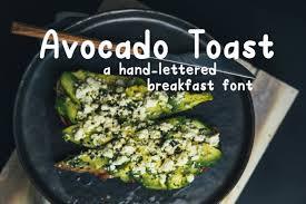 Avocado to my toast wall art digital print vegan | etsy. Free Font Bundle Vol 5 Bundle Creative Fabrica
