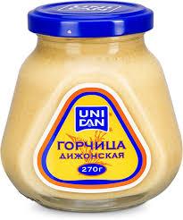 UniDan <b>Горчица</b> дижонская, 270 г — купить в интернет-магазине ...