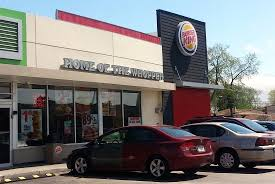 average burger king with a bp gas