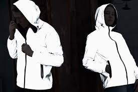 This dual-<b>sided jacket</b> blocks UV rays in the day, and increases ...