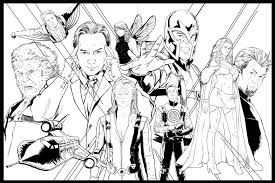 Small Picture X Men Coloring Page Within Pages itgodme