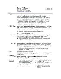 Free Sample Of Resume sample of resume format topshoppingnetwork 37