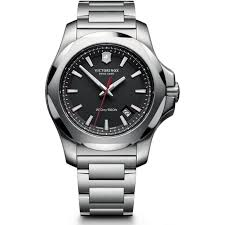victorinox swiss army 241723 1 i n o x black stainless steel swiss victorinox swiss army 241723 1 i n o x black stainless steel swiss watch