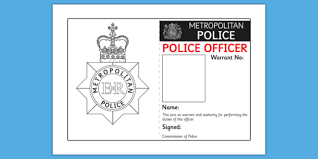 Play Template Role Badge Police Identity