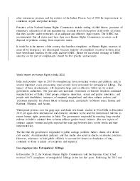 human right  essay on human rights in india