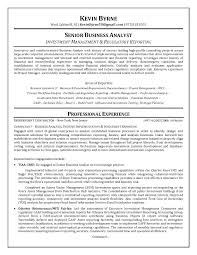Senior Business Analyst Resume Senior Business Analyst Resume Senior ...