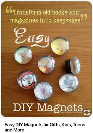 Pin by Anthony J. Crowley on Mia's market Day Ideas | Diy magnets, Diy  magnets gift, Easy diy