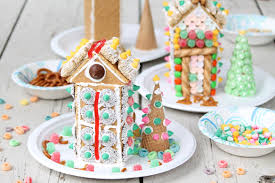 simple gingerbread houses for kids. Exellent Simple Making And Decorating Gingerbread Houses Has Been A Holiday Tradition In  Our House Since The Kids Were Little In Early Years It Was More About Making  With Simple Gingerbread Houses For Kids R