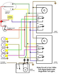 scheme for using 3 wire turn signal switch with single bulb tail 3 Wire Turn Signal there are many ways to design such a circuit; i have included a neat version built by gerry of trick engineering & fabrication here 3 wire turn signal socket