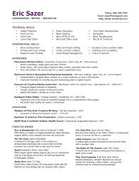 Resume Tips Creative Writing
