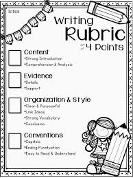 best writing rubrics ideas writing checklist  best 25 writing rubrics ideas writing checklist first grade writing and writing goals