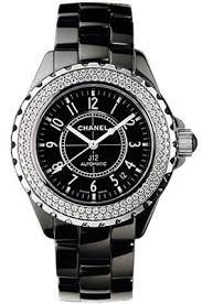 h0950 j12 chanel ceramic black ceramic diamond bezel womens chanel j12 automatic h0950
