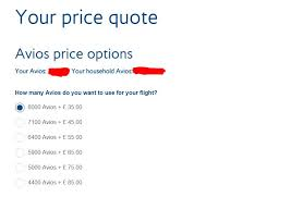 Ba Quote Enchanting Avioa Ba Price Quote UKtravelPoints