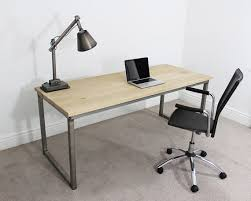 office desk table. Office Desk Table Stunning On Other And Remington Russell Oak Steel 7ft  Industrial 1 Office Desk Table E