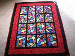 125 best Quilts - Stained Glass images on Pinterest | Candies ... & Makes me want to do another stained glass window quilt! Adamdwight.com