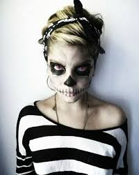 black and white design cool makeup tips for a unique look