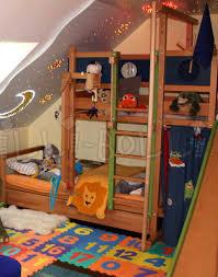 Letto a castello a sbalzo mobili per bambini da billi bolli