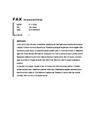 Free Printable Fax Cover Sheet Templates Classic Bordered Fax ...