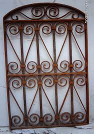 2017 wrought iron victorian gate hanging wall garden decor 6 click pertaining to iron gate on iron gate wall art with displaying photos of iron gate wall art view 3 of 15 photos