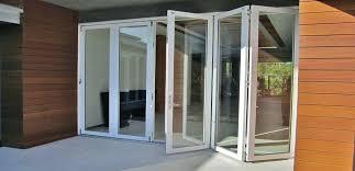elegant exterior bifold glass doors image of exterior accordion glass doors bi fold wood patio doors