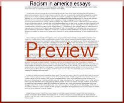 racism in america essays essay service racism in america essays 100% papers on racism essay sample topics paragraph