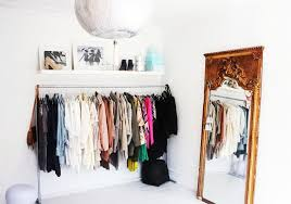 ... Wardrobe Racks, Free Standing Clothes Rack Garment Rack With Cover Long  Stainless Steel Freestanding Clothes ...