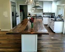 kitchen island countertop reclaimed wood s table brackets