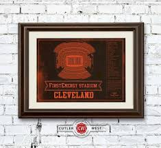 Browns Seating Chart Cleveland Browns Firstenergy Stadium Vintage Seating Chart