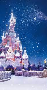 56+] Disney Christmas Background on ...