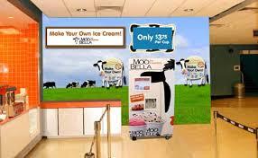 Self Service Ice Cream Vending Machine Adorable MooBella Installs Ice Creameries In RI Cinema Complex Articles
