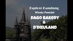 Hits Dago Bakery Ddieuland Wisata Kekinian Di Punclut Bandung