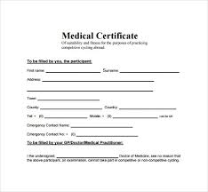 Example Certificate. Medical Certificate Format Doc Best Of Fake ...
