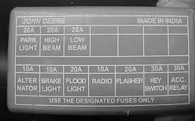 john deere tractor fuse box john wiring diagrams