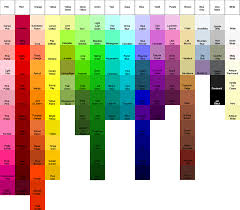 Acrylic Paint Conversion Chart Americana To Delta Ceramcoat The Feisty Quilter Color Guides