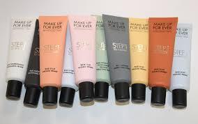 primer 最近makeup forever彩妆的最大动作就是推出了一大批全新的妆前
