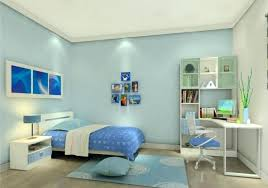simple blue bedroom. Light Blue Bedroom Elegant Walls Decorating Ideas With Simple Cabinet And White Computer I