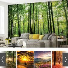 Wald Natur Bäume Fototapete Wand Bild Tapete Xxl Viele Muster