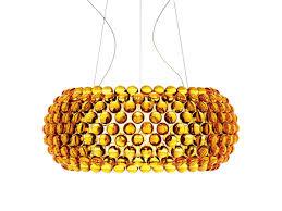 buy the foscarini caboche suspension light gold at nestcouk